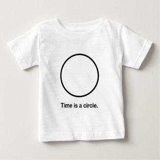 Time är en cirkel t-shirts