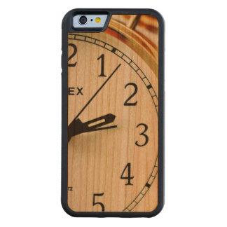 TIME EFTER ~ för TIME ~ (en ta tid pådesign) Carved Körsbär iPhone 6 Bumper Skal