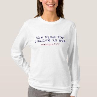 Time för ändring - val 2008 t-shirt