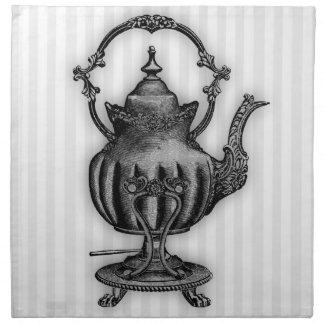Time för tekanna för Tea #8 Tygservett