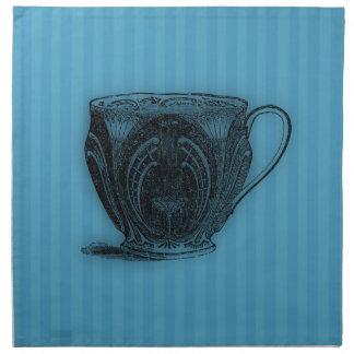 Time för tekopp för Tea #3 Tygservett