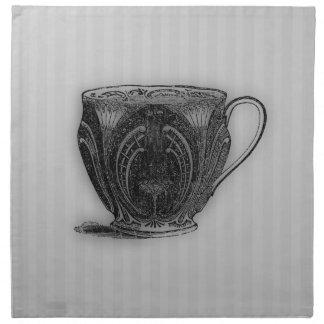 Time för tekopp för Tea #5 Tygservett