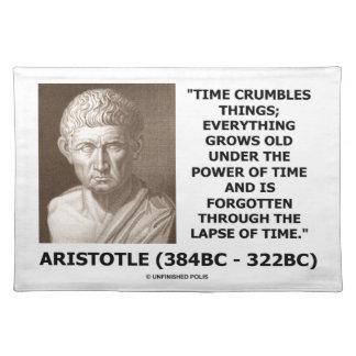 Time smulpajsaker växer det gammala Aristotle Bordstablett