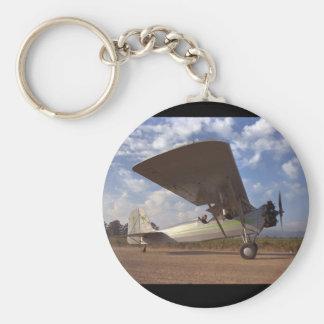 Timm som är college-, flyg 1928_Classic Rund Nyckelring