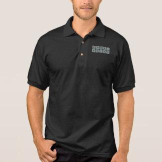 Timmen av kodifierar t-skjortan på KIST Tenniströja