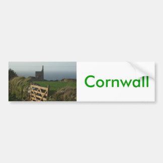 Tin bryter Cornwall Bildekal