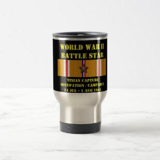 Tinian tillfångatagande ockupationkampanj kaffe mugg