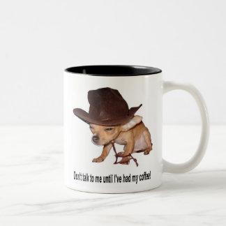 """Tinkerbell """"kaffe """", Två-Tonad mugg"""