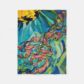 Tioarmad bläckfisk filt vid Patrick Moran