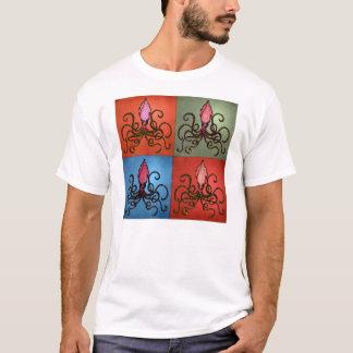 Tioarmad bläckfisk Monroe T-shirt