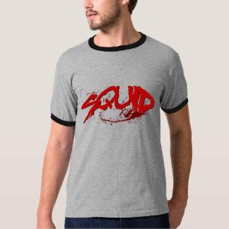 Tioarmad bläckfisk t-shirt