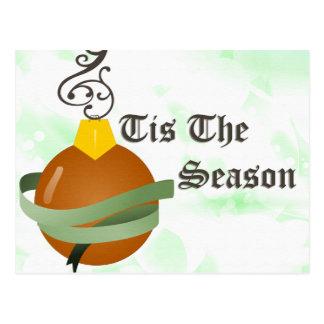 Tis säsongen vykort