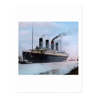 Titanic Belfast Irland vintage för RMS Vykort