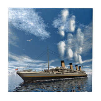 Titanic frakt kakelplatta