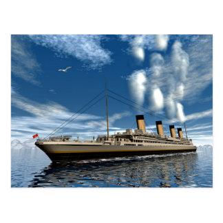 Titanic frakt vykort