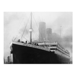 Titanic i skeppsdocka i Southampton Vykort