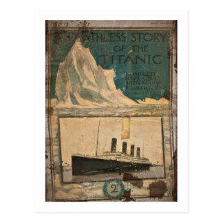 Titanic illustrerat berättar- för RMS Vykort