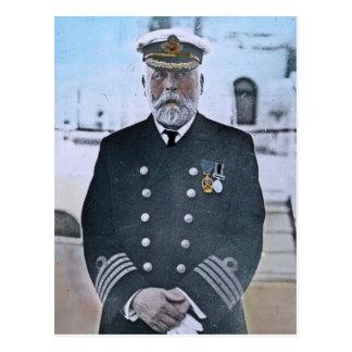 Titanic kapten Edward J. Smed för RMS Vykort