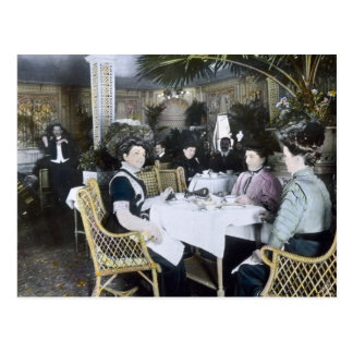 Titanic klassificerar 1st för RMS passagerare Vykort