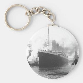 Titanic på skeppsdockorna av Southampton Nyckelring