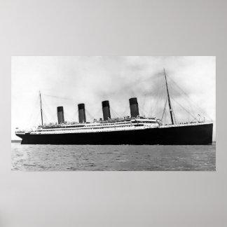 Titanic RMS Poster