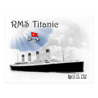 Titanic RMS Vykort
