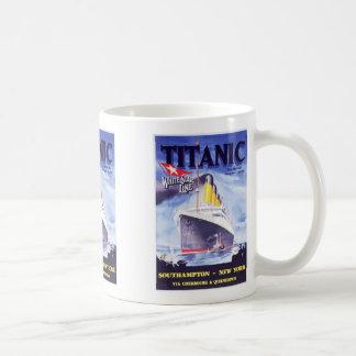 Titanic Titanic, Vit Mugg