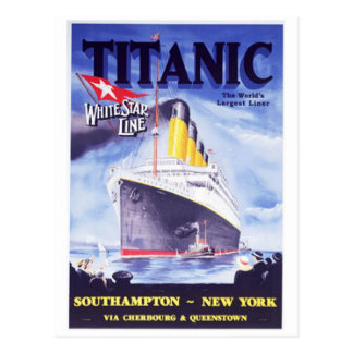 Titanic Vykort