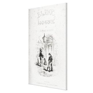 Titelsida av 'bleka House Canvastryck