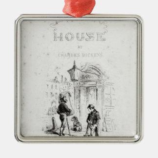Titelsida av 'bleka House Julgransprydnad Metall