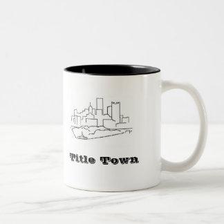 TitelTown Två-Tonad Mugg