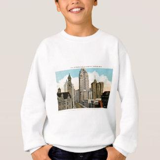 Tittar östligt på fortgatan Detroit, Michigan T Shirt