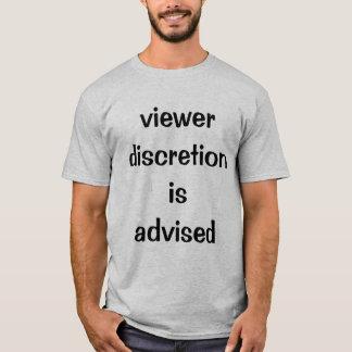 tittareomdömet är klokt tee shirt