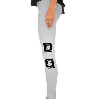 Tjackflickadamasker Leggings