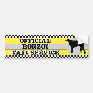 Tjänste- bildekal för Borzoitaxi