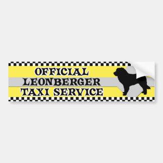 Tjänste- bildekal för Leonberger taxi