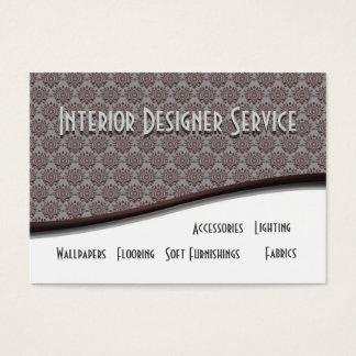 Tjänste- inre formgivare visitkort