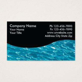 Tjänste- kort för bassäng