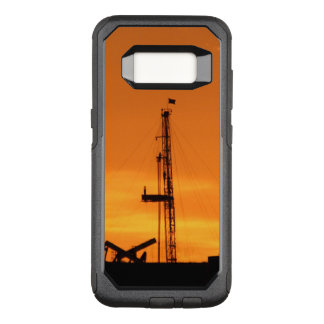Tjänste- rigg för OilfieldWorkover, orange OtterBox Commuter Samsung Galaxy S8 Skal