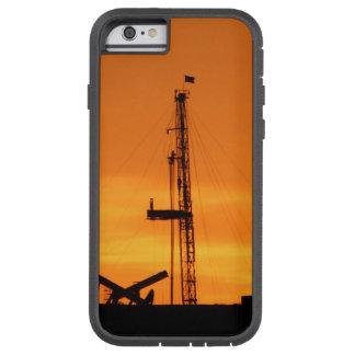 Tjänste- rigg för OilfieldWorkover, orange Tough Xtreme iPhone 6 Case