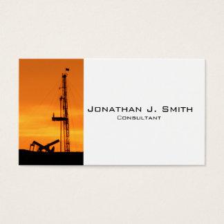 Tjänste- rigg för OilfieldWorkover som pumpar Visitkort