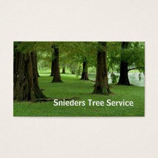 Tjänste- trädbeskärare visitkort
