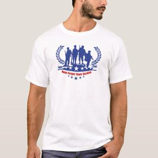 Tjänste- veterandagT-tröja T Shirts