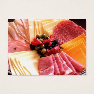 Tjänste- visitkort för mat