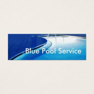 Tjänste- visitkortar för bassäng litet visitkort