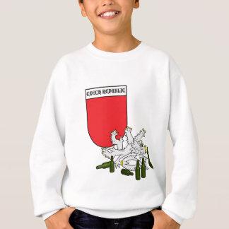 Tjeckisk Emblem med lejont T Shirt