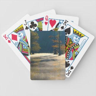 tjock mist spelkort