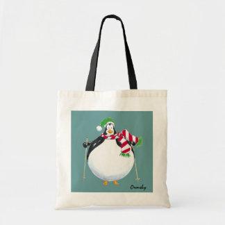 Tjock-Pingvin-toto Tygkasse