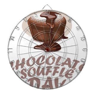 Tjugo-åttondel Februari - chokladsufflédag Darttavla