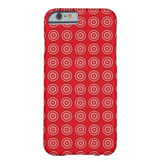 tjur-öga mönsteriPhone 6/6s, knappt där Barely There iPhone 6 Fodral